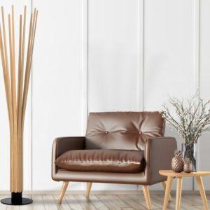 Lampe_COROLLE_FLAM&LUCE_interieur_bois